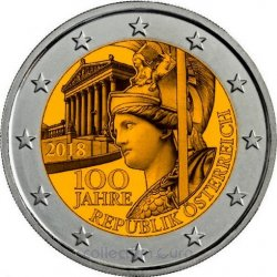 Coin Commemorative Austria 2018