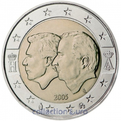 commemorative coin of Euro 2€ 2005