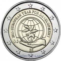 Coin Commemorative Belgium 2015