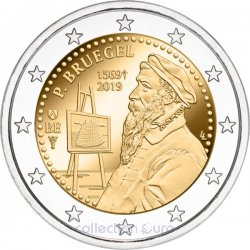Coin Commemorative Belgium 2019