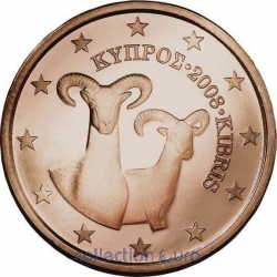 Coins cyprus of 0.01