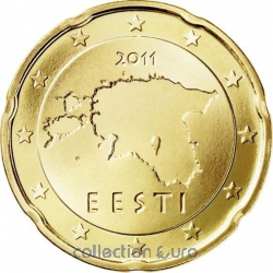 Coins estonia of 0.20