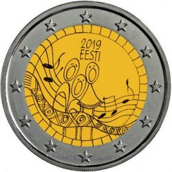 Coin Commemorative Estonia 2019