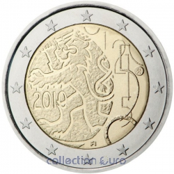 Coin Commemorative Finland 2010