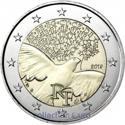 Coin Commemorative France 2015
