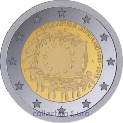 Coin Area Euro Germany 2015