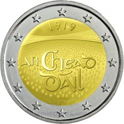 Coin Commemorative Ireland 2019