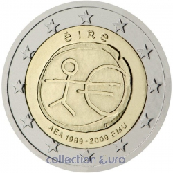 Coin Area Euro Ireland 2009