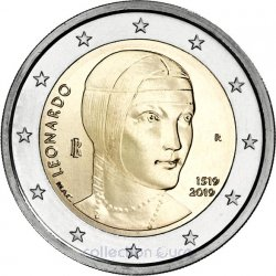 Coin Commemorative Italy 2019