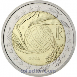 Coin Commemorative Italy 2004