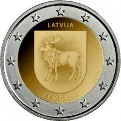 Coin Commemorative Latvia 2018
