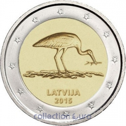Coin Commemorative Latvia 2015