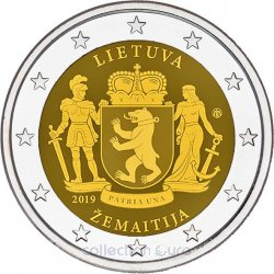 Coin Commemorative Lithuania 2019