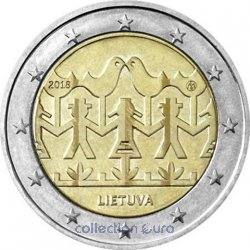 Coin Commemorative Lithuania 2018
