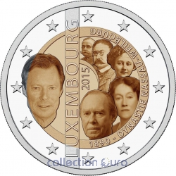 Coin Commemorative Luxembourg 2015