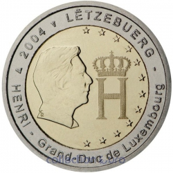 Coin Commemorative Luxembourg 2004