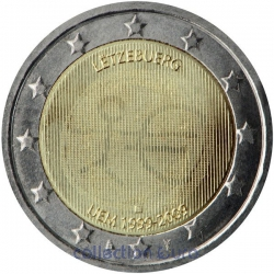 Area Euro coin of Euro 2€ 2009