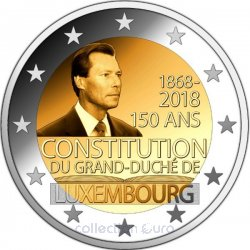 Coin Commemorative Luxembourg 2018
