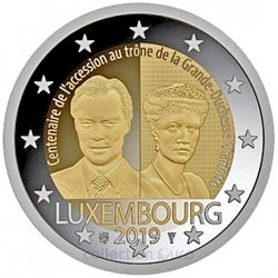 Coin Commemorative Luxembourg 2019
