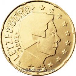 Coins luxembourg of 0.20