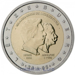 Coin Commemorative Luxembourg 2005