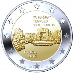 Coin Commemorative Malta 2019