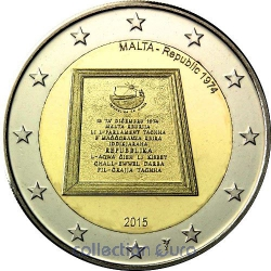 Coin Commemorative Malta 2015