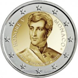 Coin Commemorative Monaco 2019