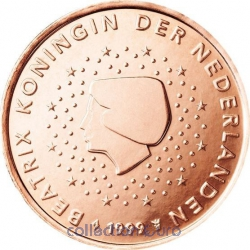 Coins netherlands of 0.02