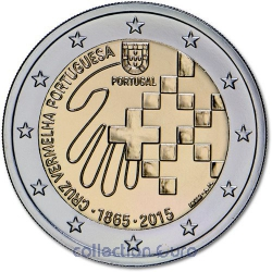 Coin Commemorative Portugal 2015