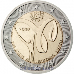 Commemorative coin of Euro 2€ 2009