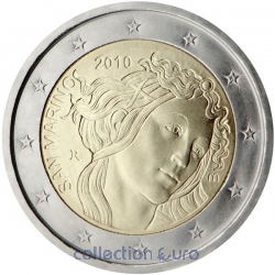 Coin Commemorative San Marino 2010