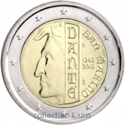 Coin Commemorative San Marino 2015