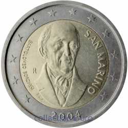 Coin Commemorative San Marino 2004