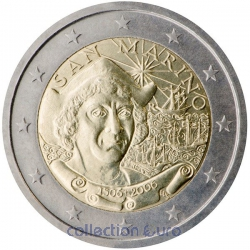 Coin Commemorative San Marino 2006