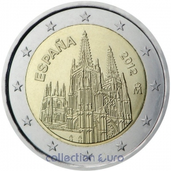 Commemorative coin of Euro 2€ 2012