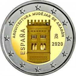 Coin Commemorative Spain 2020
