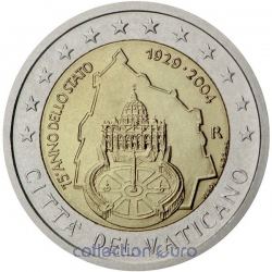 Coin Commemorative Vatican 2004