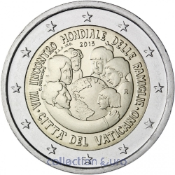Coin Commemorative Vatican 2015