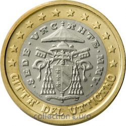 Common currency of the Euro in Vatican