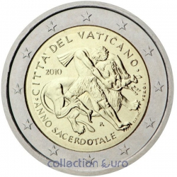 Coin Commemorative Vatican 2010