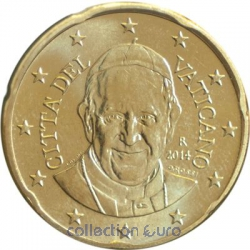 Coins vatican of 0.20