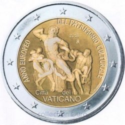 Coin Commemorative Vatican 2018